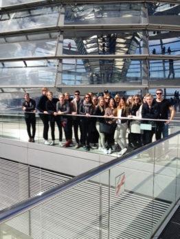 Riksdagshuset Berlin har en fantastisk glaskupol